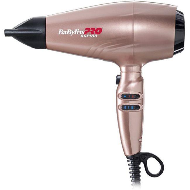 BaByliss PRO BAB7000IRGE Rapido Rose Gold