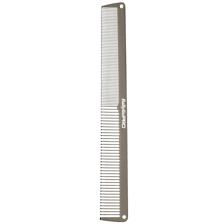 BaByliss PRO M3843E Gunsteel Metal Comb