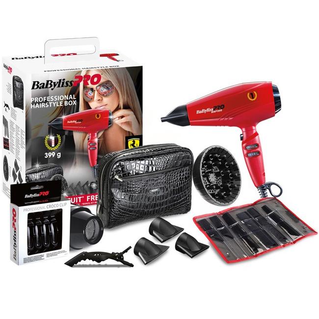 BaByliss PRO P1035E Rapido Hairstyle Box